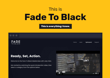 Viddyoze Fade To Black Review
