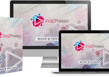 [Review] VidZPresso + BEST Bonuses + OTO/Upsell Details