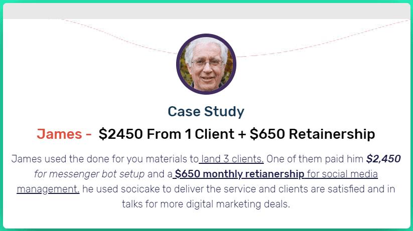 Case study 2 - SociCake Agency