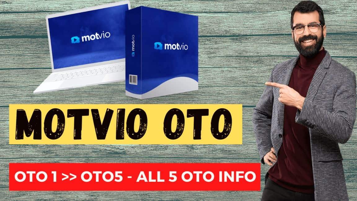 Motvio OTO or Upgrades