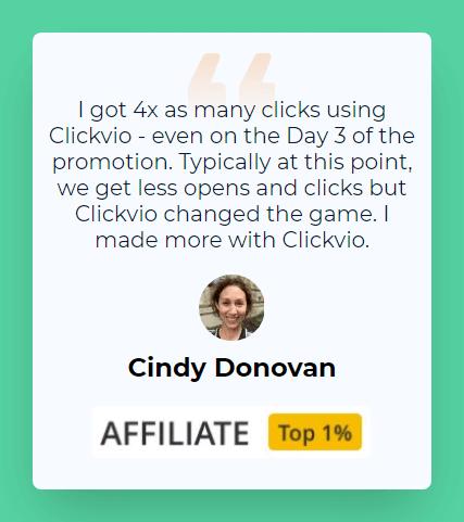 Clickvio Review - User 1