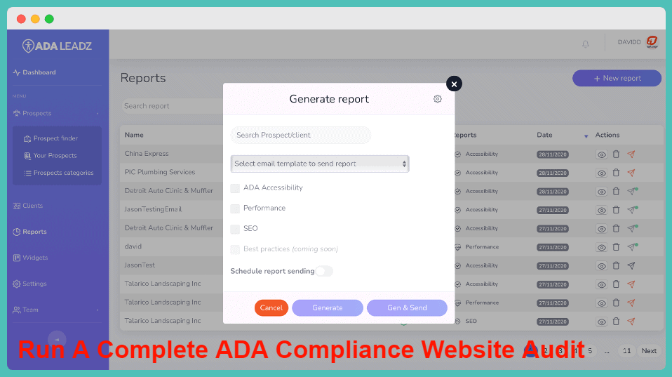 ADA Leadz Review - Run A Complete ADA Compliance Website Audit In Minutes
