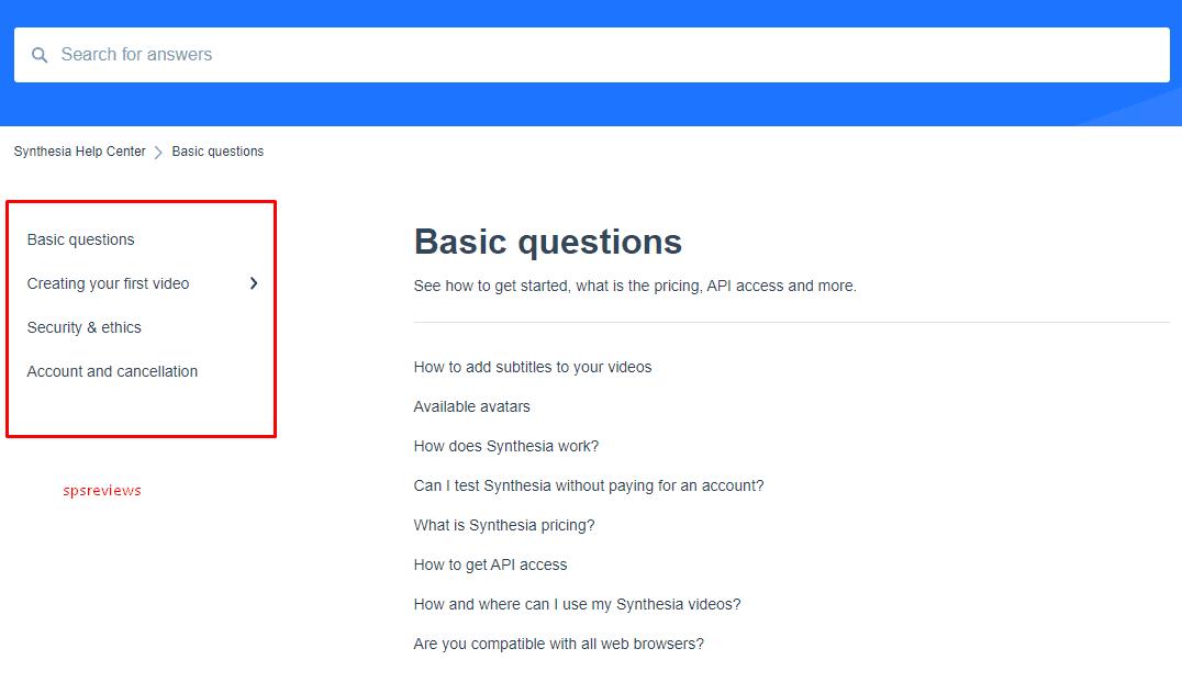 Synthesia.io FAQ