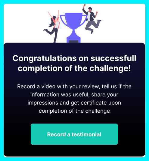 Challenges App Review - Member Area