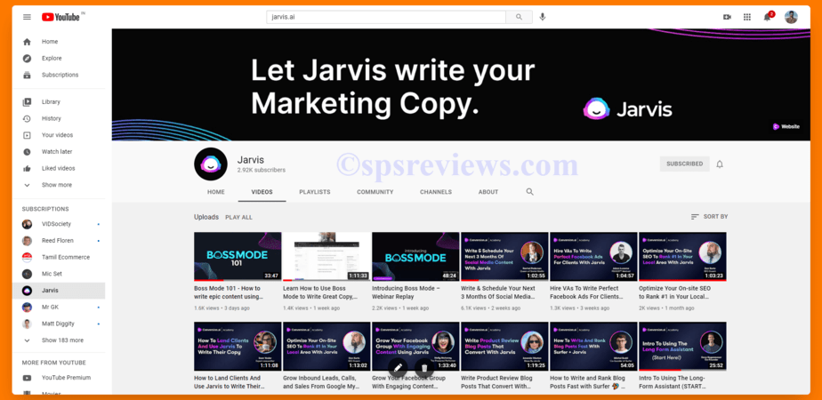 Official YouTube Channel Of Jarvis For Edcation