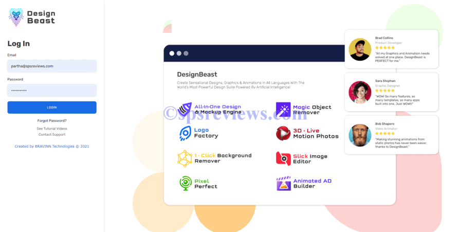 Design Beast Review - Login to your design beast dashboard