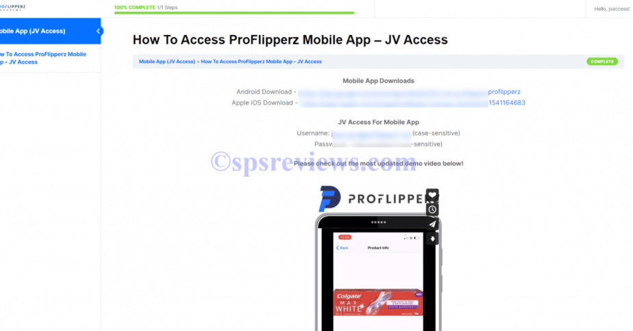 FlipSpeed Review - The Instructions On How to Use ProFlipperz Mobile App