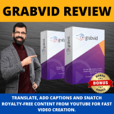 GrabVid Review + Demo + HQ Bonus & My Honest Opinion