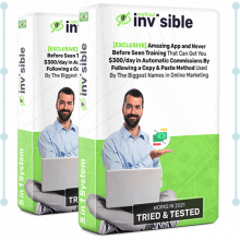Invisible Method Review – Amazing App and Never Before Seen Training That Can Get You $300/day