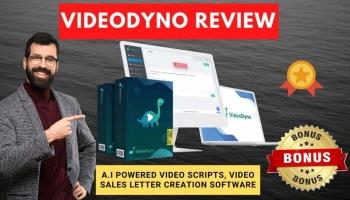 VideoDyno Review + Full Demo + UPSELL Info & Bonus