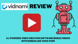 Vidnami Review: *A.I. Powered Video Creator With Human Like Voiceover*